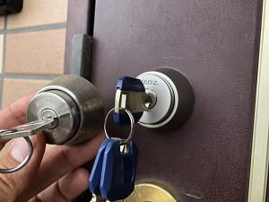 不動産マンション鍵交換