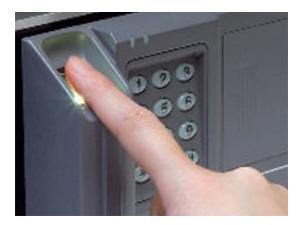 指紋認証式金庫