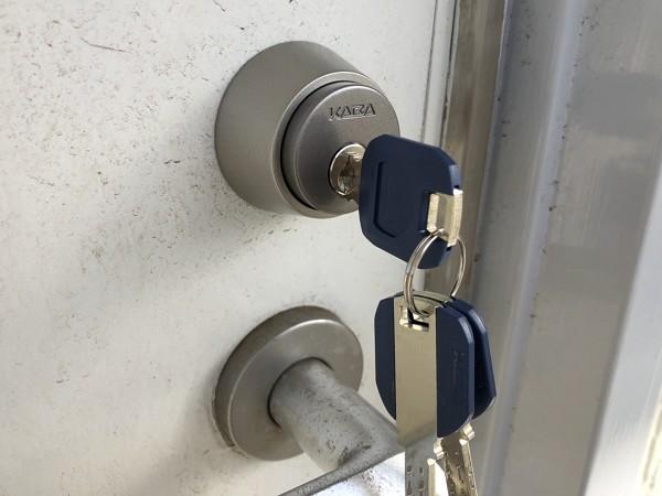 アパート鍵交換